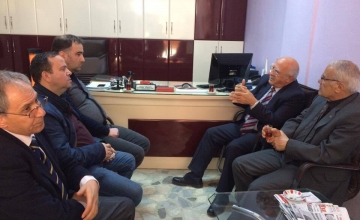 Eski Maliye Bakanımızdan Odamıza Ziyaret