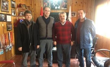 Doğanyurt Belediye Başkanına Taziye Ziyareti